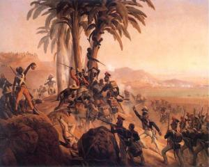 The Haitian Revolution:  First successful slave revolt, and subject of CLR James' classic marxist text The Black Jacobins