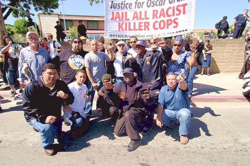 ILWU say Jail Killer Cops