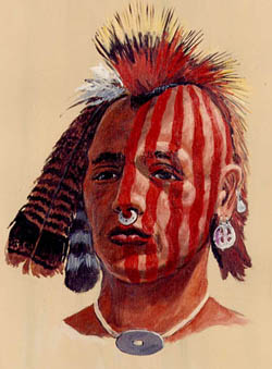 Young American Indian Man